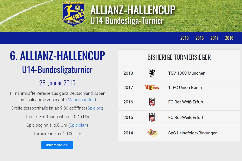 Allianz Cup U14 Bundesliga Turnier